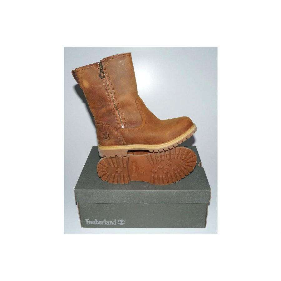 official photos eb3cc 0720a NEU TIMBERLAND EK Nellie Pull On 8247A ZIP Damen Schuhe Stiefel Leder Boots