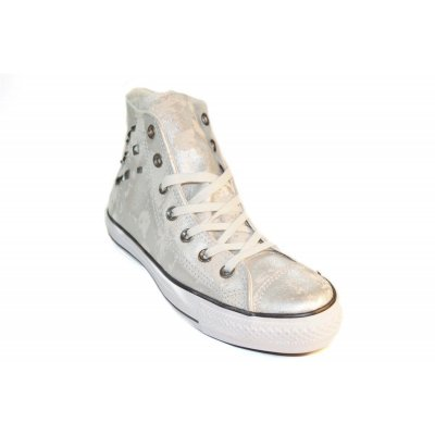 CONVERSE Brea & Hardware ALL STAR Classic HIGH Damen Schuhe shoes Leder Chucks Trainers  Converse All Star Hardware Silver EUR 39,5
