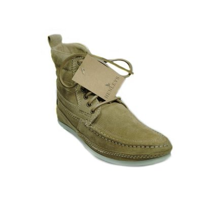 NEU HENLEYS 4 Inch Smokie Sandbar Schuhe Herren Leder Boots shoes timis Smokie braun 43