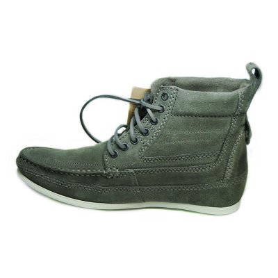 NEU HENLEYS 4 Inch Smokie Sandbar Schuhe Herren Leder Boots shoes timis Smokie grau 42