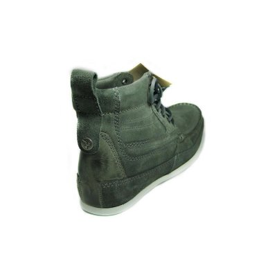 NEU HENLEYS 4 Inch Smokie Sandbar Schuhe Herren Leder Boots shoes timis Smokie grau 46