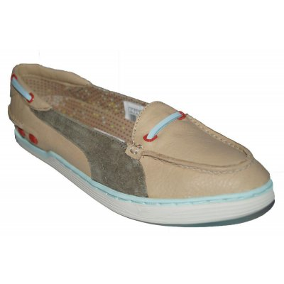 NEU! PUMA Decker Slip Schuhe Damen Sneaker Bootsschuhe Leder Slipper shoes SALE EUR 42,5 / UK 8,5